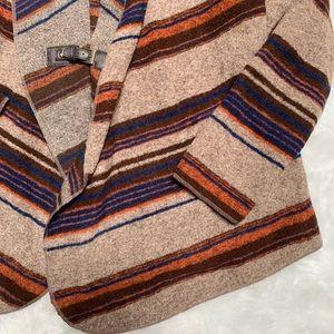 Fenn Wright Manson Sweaters - Fenn Wright manson wool blend striped sweater belt